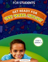 Get ready for the TOEFL Primary Grade 2 For students