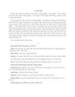 Từ điển đồng nghĩa trái nghĩa Tiếng Việt (tập 1)