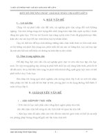 MỘT SỐ PHƯƠNG PHÁP  GIẢI BÀI TOÁN CHIA HẾT LỚP 6