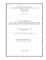 Nguyễn Phi Khanh và sự chuyển tiếp về mặt loại hình tác giả trong văn học Việt Nam thời vãn Trần sang Hồ[143906]