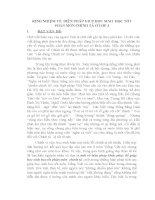 SKKN KINH VỀ  BIỆN PHÁP GIÚP SINH  HỌC TỐT PHÂN MÔN CHÍNH Ở 3
