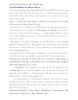 TIỂU LUẬN TỔ CHỨC HOẠT ĐỘNG DẠY HỌC Quy trình xây dựng ma trận đề kiểm tra