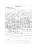 SKKN SỬ DỤNG HIỆN TƯỢNG THỰC TIỄN TRONG DẠY HỌC HÓA HỌC NHẰM TĂNG HỨNG THÚ HỌC TẬP BỘ MÔN hoá