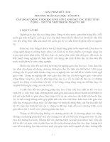 GIẢI PHÁP HỮU ÍCH PHƯƠNG PHÁP DẠY HỌC, TỔ CHỨC  CÁC HOẠT ĐỘNG CHO HỌC SINH LỚP 2 KHI DẠY CÁC PHÉP TÍNH CỘNG – TRỪ CÓ NHỚ TRONG PHẠM VI 100