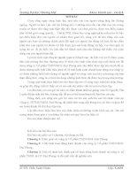 báo cáo thực tâp tổng hợp khoa khách sạn du lịch tại CÔNG TY CỔ PHẦN TMDV& DL ĐẠI PHONG