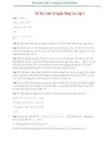 101 BÀI TOÁN TỰ LUYỆN NÂNG CAO LỚP 3 (1)