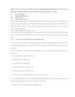 Các loại báo cáo kiểm toán. Áp dụng phương pháp phân tích đánh giá tổng quát để phân tích bảng cân đối kế toán của một đơn vị cụ thể.
