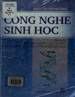 Công nghệ sinh họcTập 1. Sinh học phân tử và tế bào - Cơ sở khoa học của công nghệ sinh học