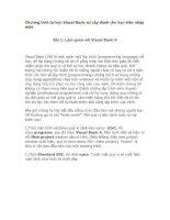 Hướng dẫn tự học Visual Basic 6 Cho Người Mới Nhập Môn
