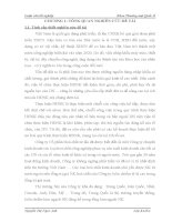 Hoàn thiện quy trình thực hiện hợp đồng nhập khẩu hoá chất từ thị trường Trung Quốc của Công ty Cổ phần Hoá chất 135 Nguyễn Văn Cừ- Long Biên- Hà Nội