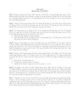 CHƯƠNG 7 BÀI TẬP ĐỊNH GIÁ CỔ PHIẾU TCDN1