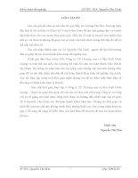 Kế toán bán hàng  nhóm văn phòng phẩm tại Công ty cổ phần thương mại và sản xuất Minh Quang