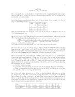 CHƯƠNG 2 BÀI TẬP ĐÁNH GIÁ DỰ ÁN ĐẦU TƯ TCDN2