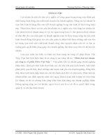Phân tích lợi nhuận tại công ty cổ phần Khóa Việt Tiệp