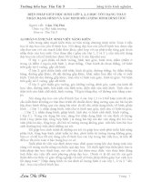 Sáng kiến kinh nghiệm BIỆN PHÁP GIÚP HỌC SINH LỚP 1, 2, 3 HỌC TỐT DẠNG TOÁN NHẬN DẠNG HÌNH VÀ XÁC ĐỊNH SỐ LƯỢNG HÌNH HÌNH HỌC