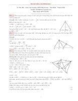 Bài tập hình học lớp 7 nâng cao (có lời giải)