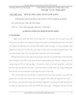 Sáng kiến kinh nghiệm BỒI DƯỠNG HỌC SINH GIỎI LỚP 9 VỚI DẠNG BÀI TẬP P2O5 TÁC DỤNG VỚI NaOH hoặc KOH