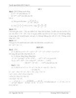 50 đề thi Học sinh giỏi Toán lớp 8 (có đáp án)