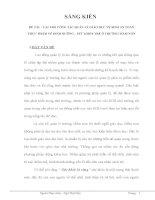 VAI TRÒ CÔNG TÁC QUẢN LÝ GIÁO DỤC VỆ SINH AN TOÀN THỰC PHẨM VỀ DINH DƯỠNG – SỨC KHỎE TRẺ Ở TRƯỜNG MẦM NON