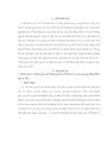 """Bài tập lớn: LỊCH SỬ NHÀ NƯỚC VÀ PHÁP LUẬT THẾ GIỚI Đánh giá chế định quyền sở hữu tài sản và chế định hợp đồng trong bộ luật Dân sự La Mã"""""""