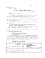 Giáo án môn Ngữ Văn lớp 9
