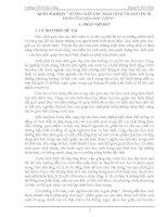 KINH NGHIỆM HƯỚNG DẪN HỌC SINH HÌNH THÀNH CHUỖI PHẢN ỨNG HÓA HỌC LỚP 9
