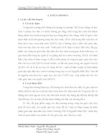 Báo cáo thu hoạch Thực tập Sư phạm Một số thực trạng và biện pháp giáo dục đạo đức học sinh ở trường trung học cơ sở Nguyễn Hữu Thọ