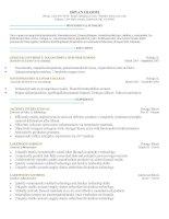 Mẫu CV xin việc bằng Doc 249 - Out of the Box