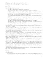CHƯƠNG 5 CÂU HỎI VÀ BÀI TẬP QUẢN TRỊ TÀI CHÍNH CÔNG TY ĐA QUỐC GIA