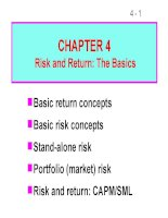 FM11 Ch 04 Risk and Return_The Basics