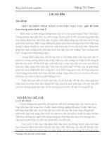 MỘT SỐ BIỆN PHÁP NÂNG CAO VIỆC DẠY CÁC YẾU TỐ HÌNH HỌC TRONG MÔI TOÁN LỚP 2