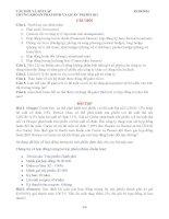 CHƯƠNG 2 CÂU HỎI VÀ BÀI TẬP CHỨNG KHOÁN PHÁI SINH VÀ QUẢN TRỊ RỦI RO