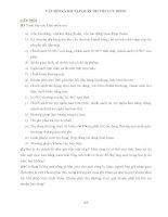 CHƯƠNG 1 CÂU HỎI VÀ BÀI TẬP QUẢN TRỊ VỐN LƯU ĐỘNG