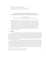 Báo cáo dạy học giải quyết vấn đề trong giảng dạy phương pháp giải một bài toán trên máy tính điện tử   nguyễn tân ân