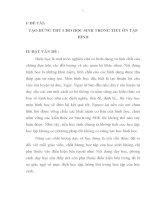 skkn TẠO HỨNG THÚ CHO HỌC SINH TRONG TIẾT ÔN TẬP HÌNH