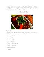 hướng dãn Cách nấu món bò kho