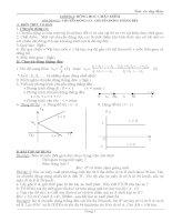 bài tập dạy thêm vật lý lớp 10