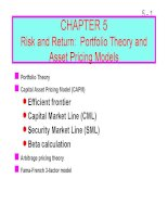 FM11 Ch 05 Risk and Return_ Portfolio Theory and Asset Pricing Models