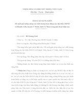 báo cáo sáng kiến đề xuất giải pháp nâng cao chất lượng hoạt động của đại biểu HĐND xã Khánh Tiến, huyện U Minh, tỉnh Cà Mau trong giai đoạn hiện nay