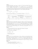 Bài tập cơ học đất có đáp án   đại học giao tông vận tải