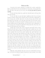 CHÍNH SÁCH CỔ TỨC VÀ GIÁ TRỊ DOANH NGHIỆP THEO LÝ THUYẾT MM
