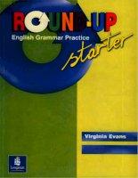 Round Up Starter  English Grammar Practice