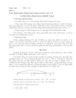 Giáo án bồi dưỡng học sinh giỏi vật lý 7