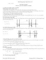 Tài liệu bồi dưỡng học sinh giỏi vật lý lớp 8