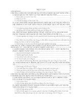 Một số biện pháp huy động và sử dụng vốn tại Công ty CP Đầu tư-Xây  dựng và Phát triển Nam Việt