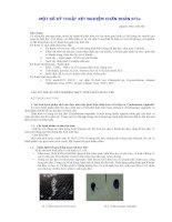 Một số kỹ thuật xét nghiệm chẩn đoán STIS, BS.Nguyễn Phúc Như Hà