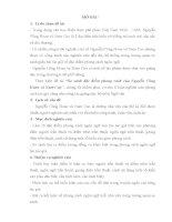 TÓM TẮT LUẬN VĂN THẠC SĨ SO SÁNH ĐẶC ĐIỂM PHONG CÁCH NGÔN NGỮ CỦA NGUYỄN CÔNG HOAN VÀ NAM CAO