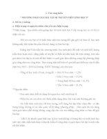 PHƯƠNG PHÁP GIẢI BÀI TẬP DI TRUYỀN MÔN SINH HỌC 9