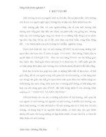 Sáng kiến kinh nghiệm –BIỆN PHÁP GIÁO DỤC BẢO VỆ MÔI TRƯỜNG QUA PHẦN SINH VÀ VẬT MÔI TRƯỜNG TRONG SINH HỌC 9