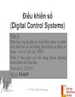 Digital control (bachelor)